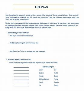 Sample life plan template 9 free documents in pdf for Life plan template pdf