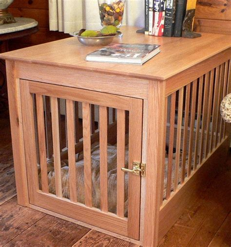build plans dog crate  table loccie  homes