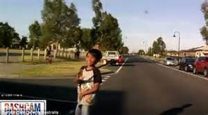 Dashcam owners video shows moment Australia child is hit ...