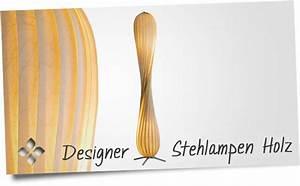 Designer Stehlampen Holz : designer stehlampen aus holz design stehlampe aus holzfurnier ~ Indierocktalk.com Haus und Dekorationen