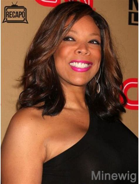 Without Bangs Wavy Auburn 14 Inch Cheapest Wendy Williams Wigs