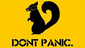Don't Panic wallpaper