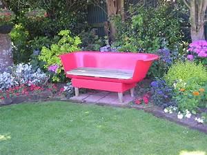 Badewanne Outdoor Garten : innovative funky bathtub garden seat grows on you ~ Sanjose-hotels-ca.com Haus und Dekorationen
