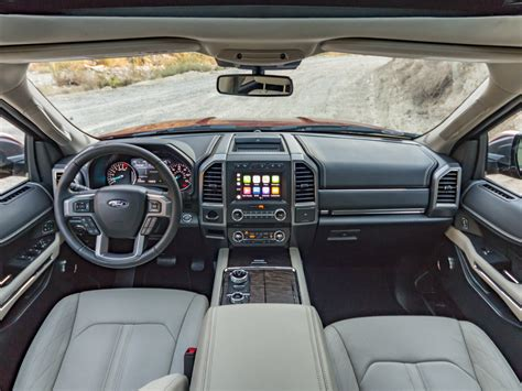 ford expedition interior 2018 ford expedition is the navigator worth it