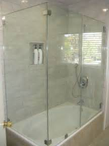 One Piece Acrylic Tub Shower Units by Glass Shower Doors Bathtub Home Improvement