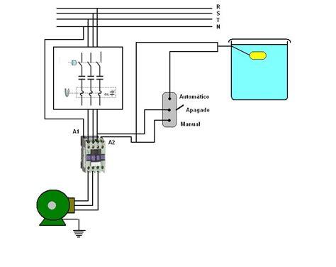 solucionado coneccion de automatico de tanque en contactor trifasico yoreparo