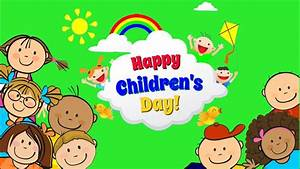 Happy Children's Day | Children's Animation Workshop |Kids ...