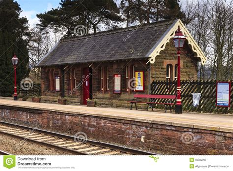 Traditional English Railway Station Editorial Photography  Image 30382237