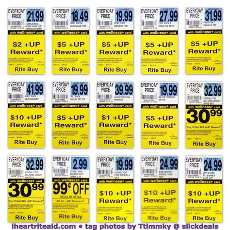 rite aid new winter rewards i heart rite aid ad scans 08 2013 up tags