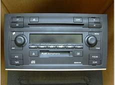 VWVortexcom 2003 Audi Symphony II A4 Stereo