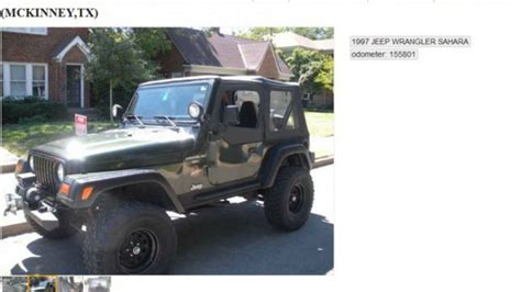 Oppo Neo 5 White Jeep Wrangler this hilarious jeep wrangler craigslist ad is america
