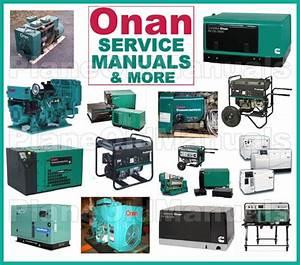 Cummins Onan Generator  U0026 Control Ktt11 Ktt12 Ktt51 Ktt52