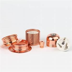 E27 Fassung Metall : e27 fassung mit schraubringe und zugentlastung verkupfert 12 95 ~ Orissabook.com Haus und Dekorationen