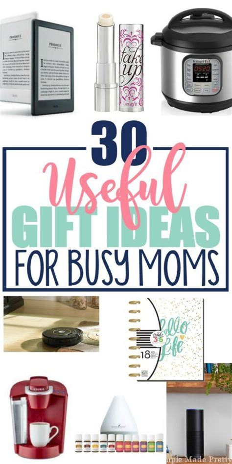 30 useful gift ideas for busy moms simple made pretty