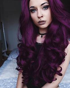 Love The Purple Hair Why Stick To A Few Standard Colours