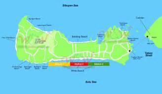 Boracay Island Philippines Map