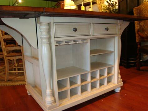 white kitchen island counter height dining table drop