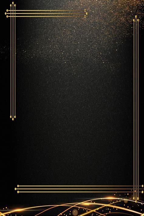 black gold business invitation invitation background