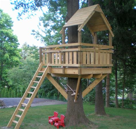 Build A Treehouse For Your Kids And Be Their Superdad