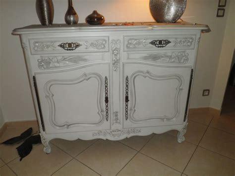 bahut ancien style proven 231 al r 233 nov 233 blanc patin 233 gris 224 robion finition patine et relooking de