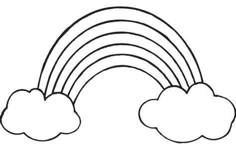 Coloring Pages Of Rainbows by Rainbow Coloring Pages 360coloringpages