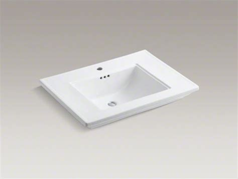 kohler memoirs r stately 30 quot vanity top bathroom sink