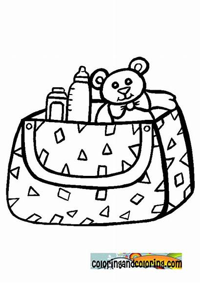 Coloring Pages Stuff Rattle Printable Template Magdalena