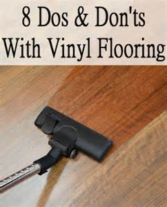 8 dos and don ts with vinyl flooring by jaci