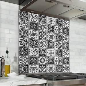 best carreaux de ciment credence cuisine images With acheter carreaux de ciment