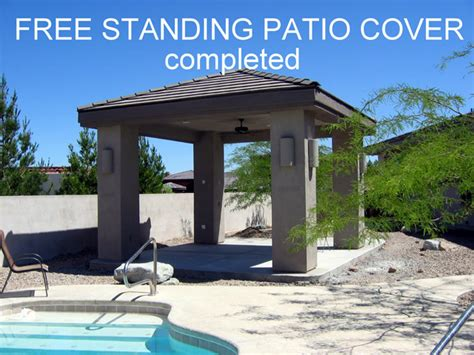 free standing patio cover patio covers balconies photo gallery las vegas remodeling contractor black