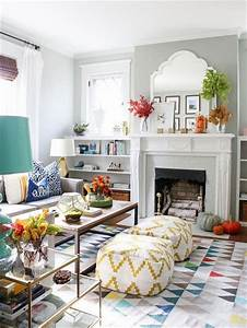 10, Lovely, Cozy, Living, Room, Decoration, Ideas, For, Fall
