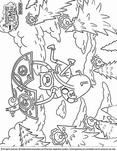 Adventure Coloring Pages Printable Sheets Finn Adventuretime