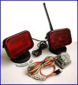 battery powered wireless towing lights long lasting led wireless tail lights