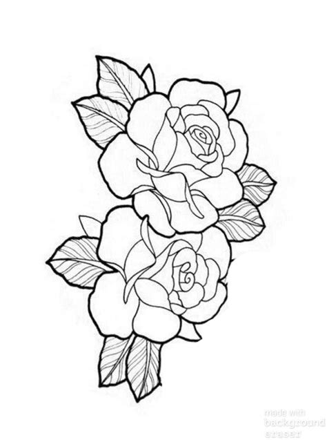 Pin by Bob Jackson on Wood Burning | Rose tattoo stencil, Rose tattoo design, Rose tattoos