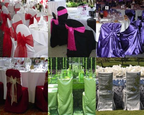 decoration housse de chaise mariage housse de chaise mariage pas cher