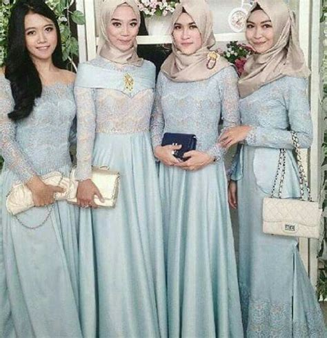 baju muslim pesta womens fashion pinterest muslim
