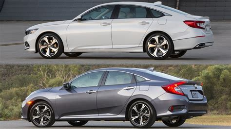 Honda Civic X 2017 Vs. Honda Accord 2018