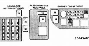 1994 Toyota Camry Fuse Box Diagram
