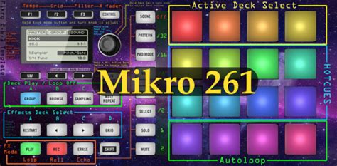 Traktor Maschine Mikro Templates by Traktor Bible Ultimate Maschine Mikro Mapping For