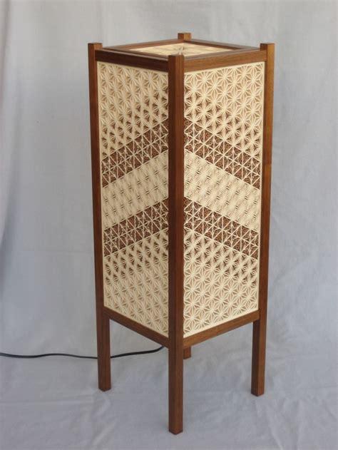 japanese kumiko andon lamp finewoodworking