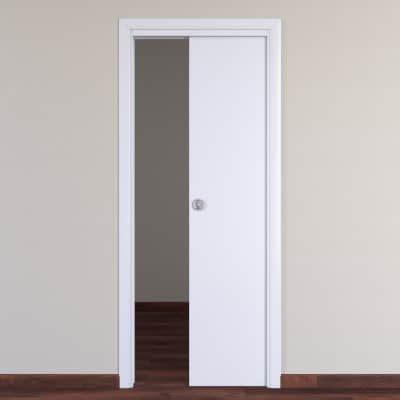 Porta Da Interno Porta Da Interno Scorrevole Pearl Bianco 80 X H 210 Cm
