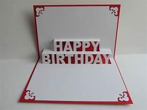 Pop Up Karte Basteln Geburtstag : pop up karten pop up karte herzl gl ckwunsch happy birthday ein designerst ck von ~ Frokenaadalensverden.com Haus und Dekorationen