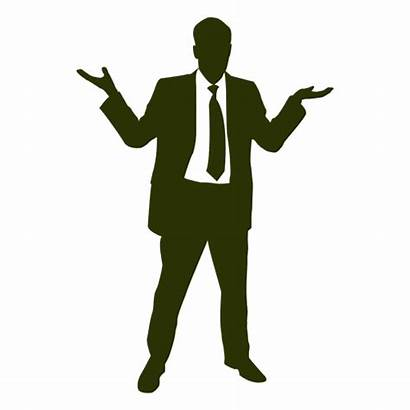 Silhouette Businessman Happy Transparent Clipart Svg Business