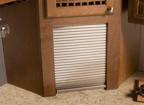 tambour door kitchen cabinet aluminum tambour door for appliance garage former