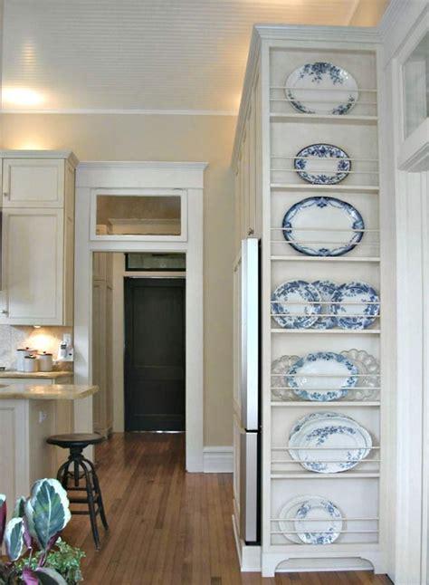 favorite farmhouse plate racks plates  wall dish display kitchen pantry