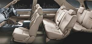 Toyota Fortuner Interior Seating Arrangement View