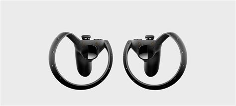dual virtual reality controllers oculus touch revealed