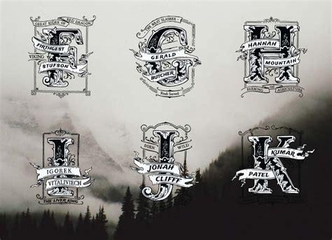vintage monogram  logo fk