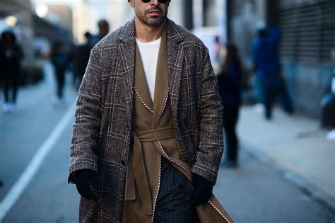 New York Fashion Week Men Fall Street Style Photos
