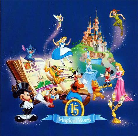 disneyland resort paris  anniversary disney wiki